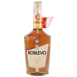 Koblevo 3* коньяк украинский ординарный, 0,5 л