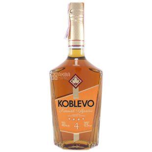Koblevo 4* коньяк украинский ординарный, 0,5 л