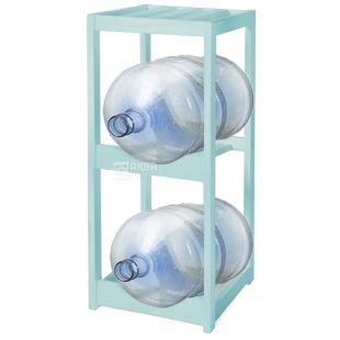 ViO, Подставка деревянная под 2 бутыля, WS-2, бирюза