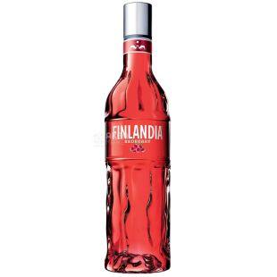 Finlandia, Водка, Клюква красная, 37,5%, 0,5 л