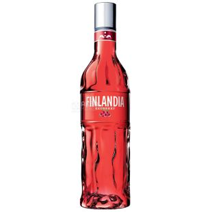 Finlandia, Водка, Клюква красная, 37,5%, 1 л
