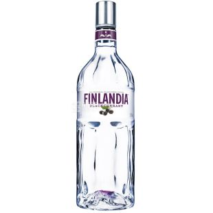 Finlandia, Vodka, Black Currant, 37.5%, 1 L