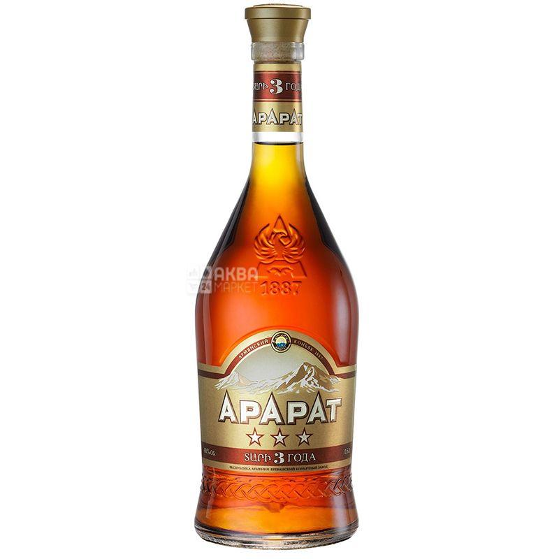 Ararat коньяк 3 года выдержки, 0,5 л
