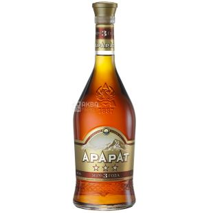 Ararat cognac 3 years old, 0.7 l