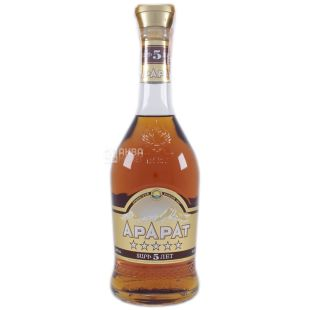 Ararat cognac 5 years old, 0.5 l