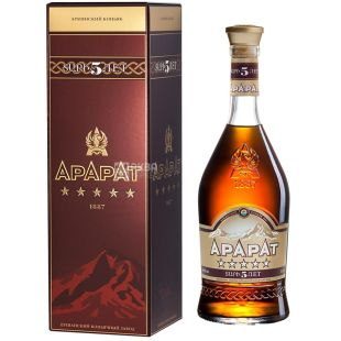 Ararat cognac 5 years old, 0.7 l