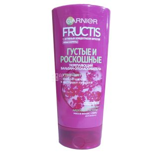 Garnier, 200 ml, balsam conditioner, thick and luxurious, Fructis