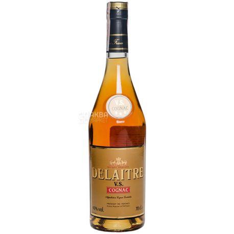 Delaitre Коньяк, VS, 0,7 л, Стеклянная бутылка