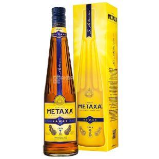 Metaxa 5 Star, Бренди, подарочная упаковка, 5 звезд, 0,7 л