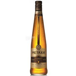 Metaxa Honey Shot, Бренди, медовый ликер, 5 лет выдержки, 0,7 л