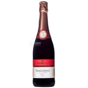 Fiorelli Fragolino Rosso, Вино игристое красное, 0,75 л