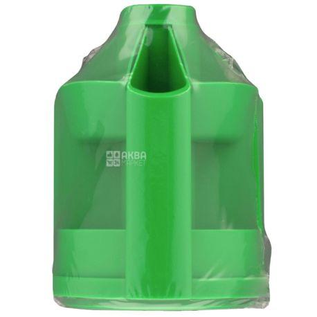 Economix 32209, Подставка под ручки, офисная, карусель, зеленая, 10 отделений