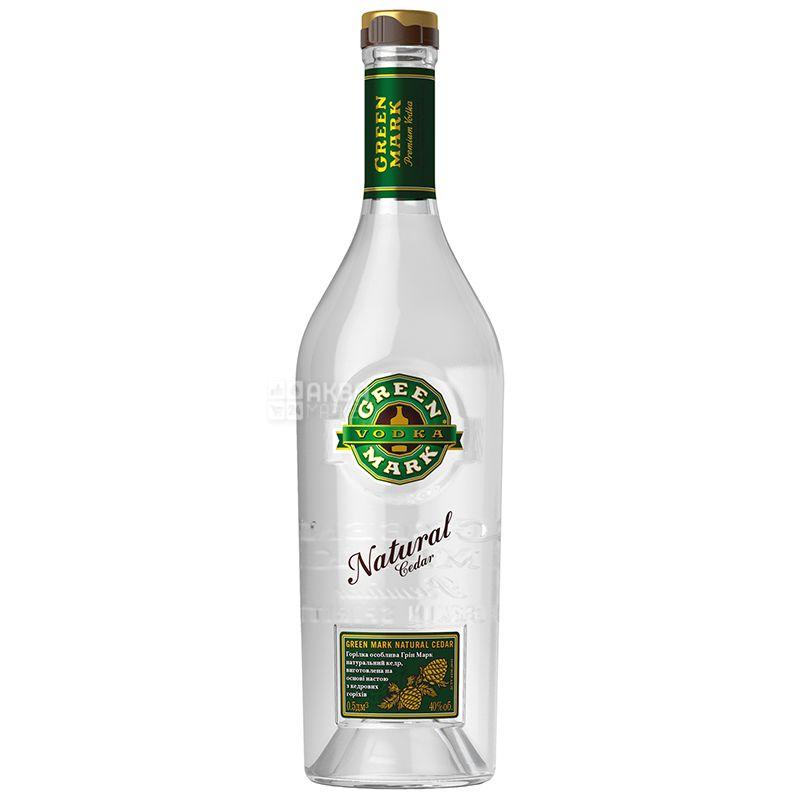 Green Mark, Горілка кедрова, 40%, 0,5 л