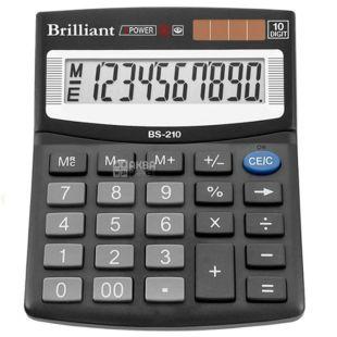 Brilliant BS-210 калькулятор настольный десятиразрядный