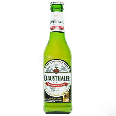 Clausthaler, non-alcoholic beer, 0.33 liters