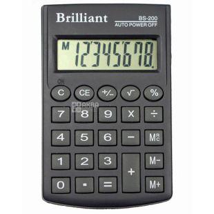 Brilliant BS-200Х калькулятор кишеньковий восьмирозрядний