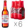 Bud, пиво светлое, промопак 6*0,5 л