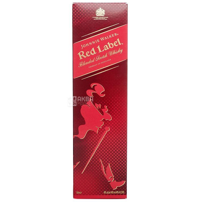 Johnnie Walker Red Label Виски, 1л
