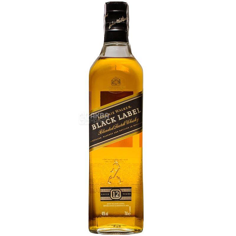 Johnnie Walker Black Label Віскі, 0.7л