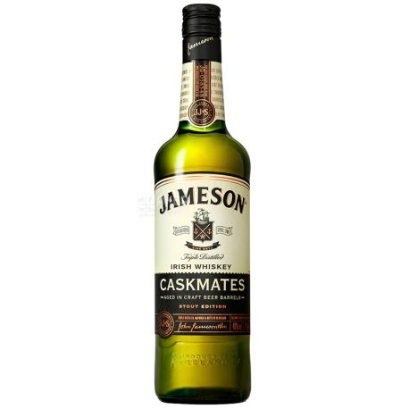 Jameson Caskmates Виски, 0.7л