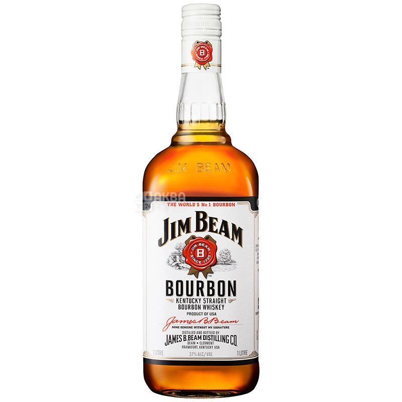 Jim Beam White, Виски, 1 л