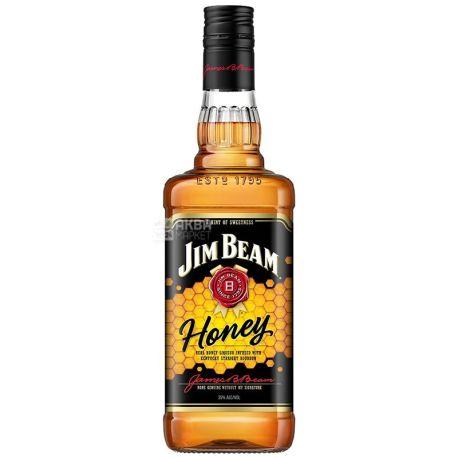 Jim Beam Honey, Виски медовый, 0,7 л