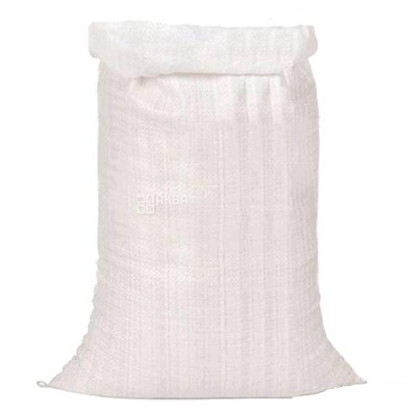 Мішок Поліпропіленовий білий 50 * 100 см 45 кг