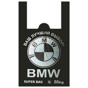 BMW plastic T-shirt, 43x70 cm, 50 pcs, package