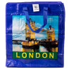 Лондон-Париж  Сумка господарська поліпропіленова 50*45*25 см