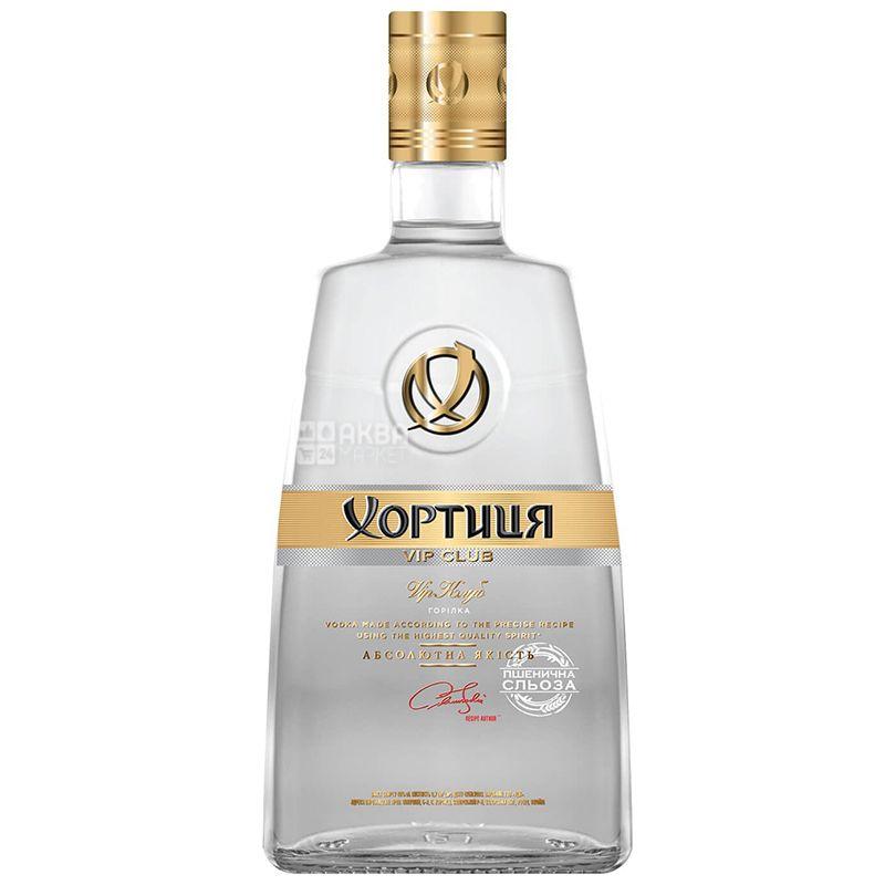 Хортица VIP Клуб, Водка, 40%, 0,7 л