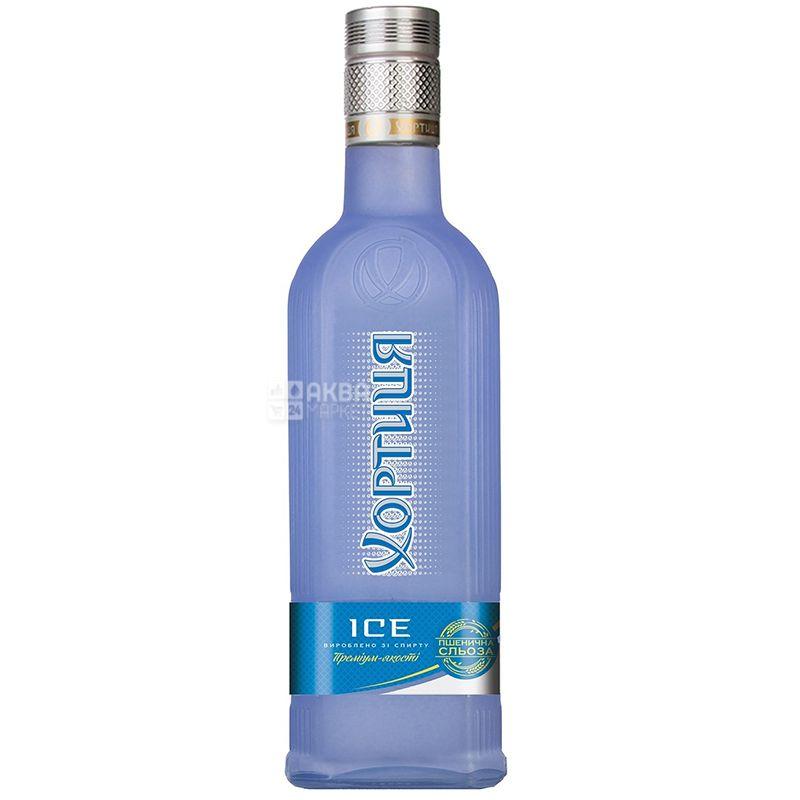 Хортица Ice, Водка, 40%, 0,5 л