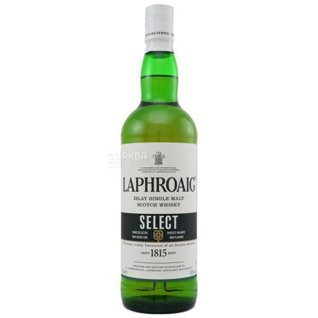Laphroaig SELECT Whiskey, 0.7l