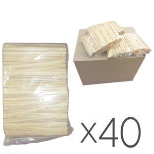 Мешалка деревянная, 800 шт., Упаковка 40 шт.