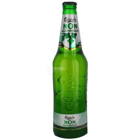 Carlsberg N0N-Alcoholic, пиво светлое безалкогольное, 0,5 л