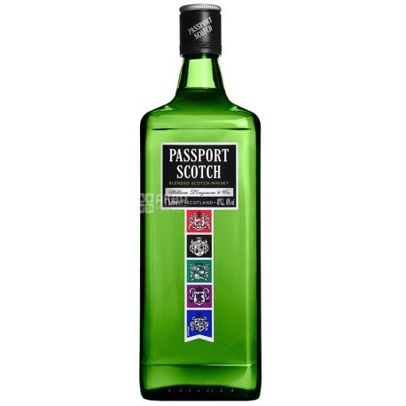 Passport Scotch Виски, 1л