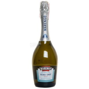 Marengo вино игристое белое полусухое, 0,75 л