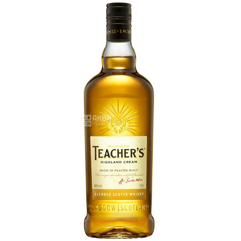 Teacher's Highland Cream Виски, 0.7л