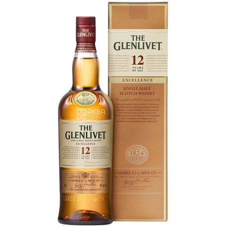 The Glenlivet Excellence Виски, 0.7л