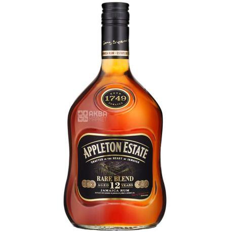 Appleton Estate Rare Blend, Rum Jamaica, 12 years of exposure, 0.7 l