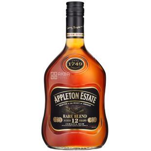 Appleton Estate Rare Blend, Rum Jamaica, 12 years of exposure, 0.7 l
