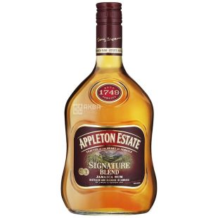 Appleton Estate Signature Blend, Rohm Jamaican, 0.7 l
