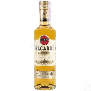 Bacardi Carta Oro, Ром, от 2 лет выдержки, 0,5 л