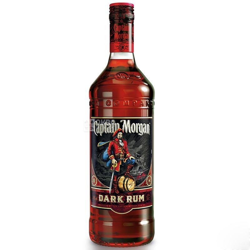 Captain Morgan Dark, Ром черный, 0,7 л