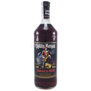 Captain Morgan Dark, Black Rum, 1 L