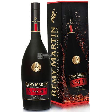 Remy Martin Коньяк, VSOP,1,0 л, Стеклянная бутылка