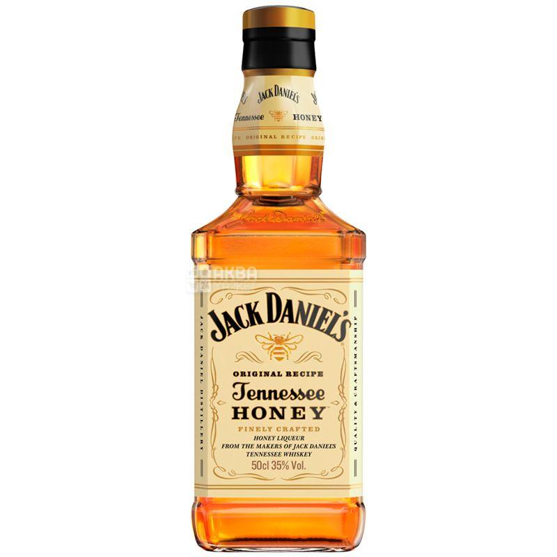 Jack Daniel's Tennessee Honey, Віскі-лікер медовий, 0,5 л