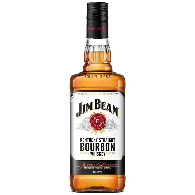 Jim Beam White Whiskey, 0.5l