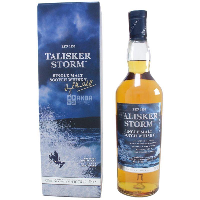 Talisker Storm Виски, 0.7л