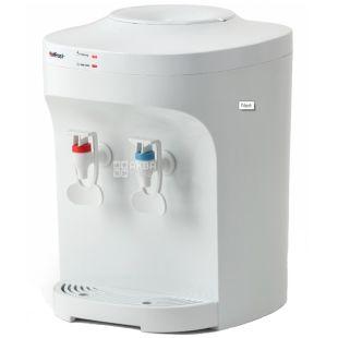 HotFrost D120E, Кулер для води настільний, білий, 2 крана