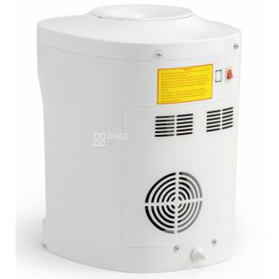 HotFrost D120F, Кулер для води настільний, білий, 2 крана